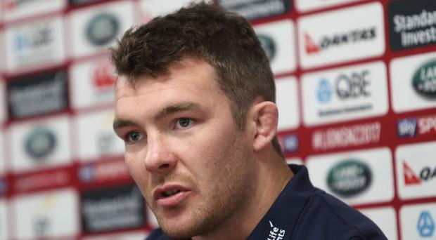 Peter O'Mahony has made a late run through the ranks to become captain of the Lions