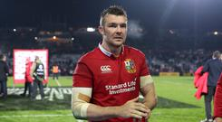 Peter O'Mahony will lead the British and Irish Lions against New Zealand