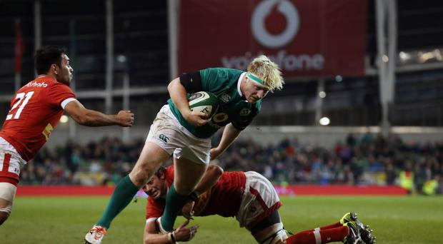 James Tracy is set to make his first start for Ireland