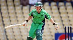 England's current short-form captain Eoin Morgan starred for his native Ireland at the start of his career