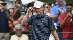 Jordan Spieth won in Connecticut (AP)