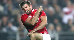 Jared Payne has been withdrawn from the Lions' clash with the Hurricanes