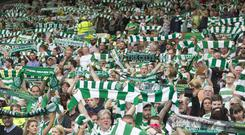 Some Celtic fans want to travel to Belfast