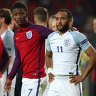 Nathan Redmond missed the crucial spot kick for England under-21s