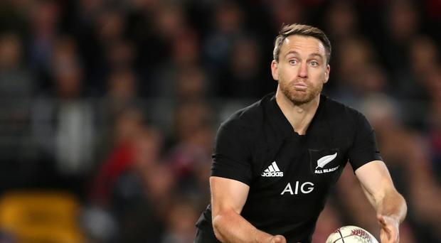All Blacks full-back Ben Smith