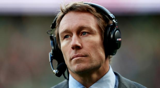 Jonny Wilkinson won the World Cup with England in 2003