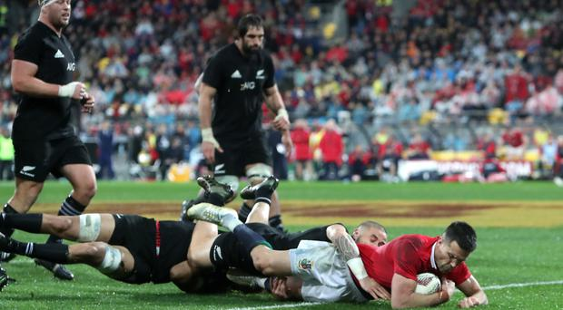 Conor Murray's try helped the British and Irish Lions to a series-levelling victory in the second Test