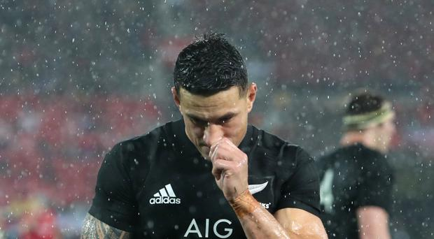 Sonny Bill Williams has been hit with a four-week ban