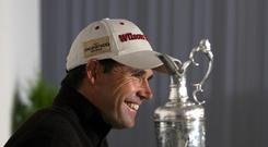 Padraig Harrington is looking forward to returning to Royal Birkdale, where he won the 2008 Open Championship