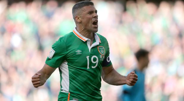 Republic of Ireland's Jonathan Walters is set to join Burnley. Photo: PA