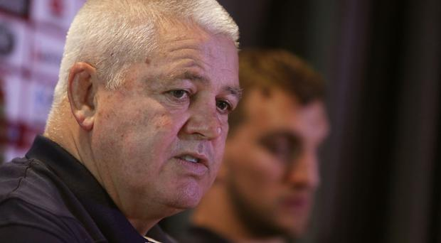 Warren Gatland insists there is no pressure on the Lions
