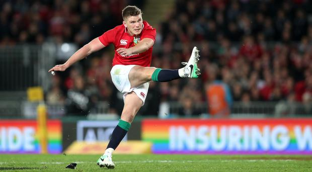 Owen Farrell's penalty rescued a draw for the Lions
