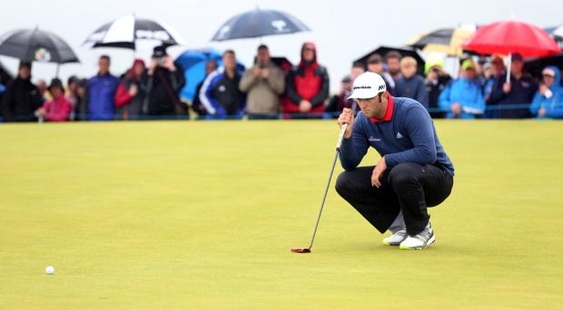 Jon Rahm's victory in the Dubai Duty Free Irish Open featured another rules controversy