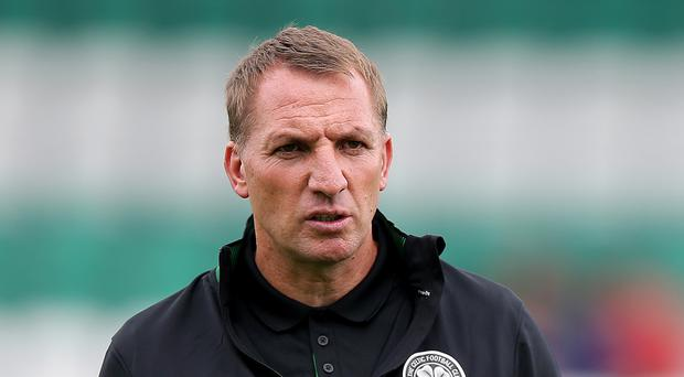Celtic manager Brendan Rodgers is sad there will be no Hoops fans in attendance at Linfield