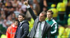 Celtic manager Brendan Rodgers expects a tough task against Rosenborg