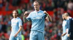 Glenn Whelan has swapped Stoke for Aston Villa