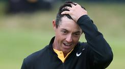 Rory McIlroy finished strongly at the Open