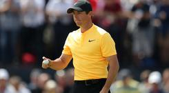 Rory McIlroy hopes his form is picking up ahead of the US PGA Championship