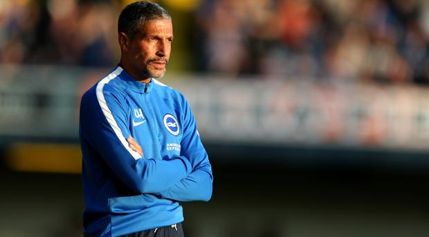 Chris Hughton's Brighton open their season by hosting Manchester City on Saturday