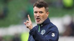 Ireland's assistant manager Roy Keane
