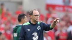 Manager Martin O'Neill has handed Preston's Sean Maguire a first senior Republic of Ireland call-up