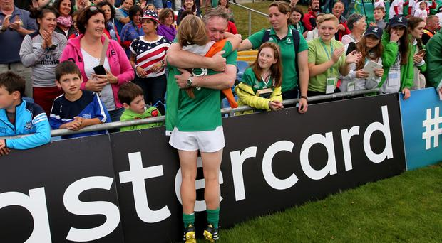 Nicole Cronin enjoyed a successful debut against Japan