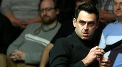 Ronnie O'Sullivan made a winning start in China