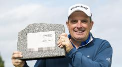 Anthony Wall is hoping to make a successful defence of the Saltire Energy Paul Lawrie Match Play