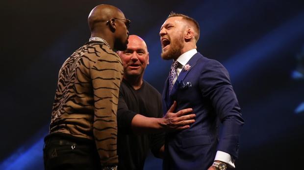 Conor McGregor's fight with Floyd Mayweather has been years in the making