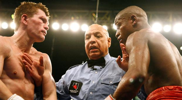 Joe Cortez was the referee the night in 2007 when Floyd Mayweather defeated Ricky Hatton