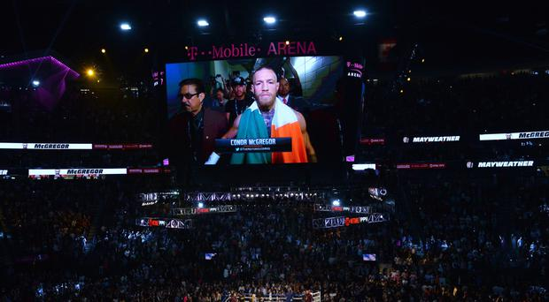 Conor McGregor was beaten by Floyd Mayweather
