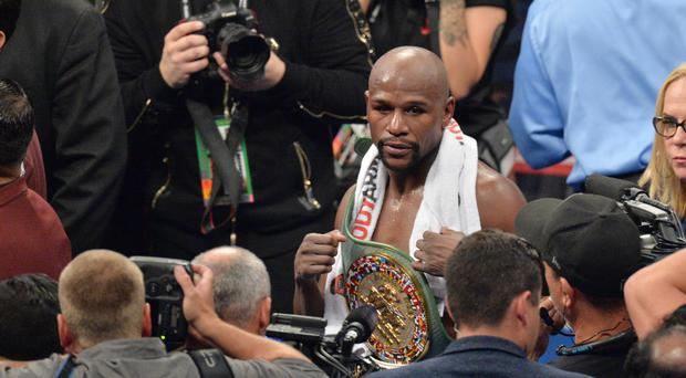 Floyd Mayweather's convoy was targeted by a gunman
