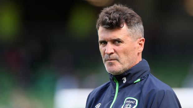 Republic of Ireland assistant manager Roy Keane. Photo: PA