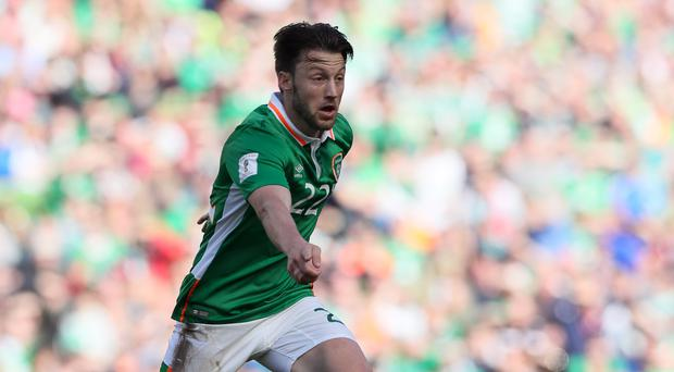 Republic of Ireland midfielder Harry Arter battling to be fit for World Cup duty after a calf injury
