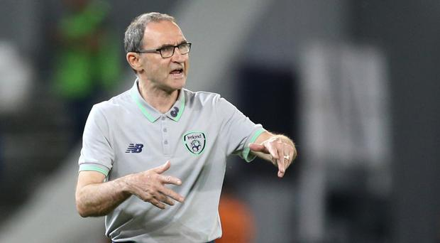 Republic of Ireland manager Martin O'Neill saw his team denied victory by Georgia