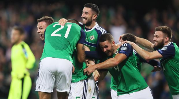 Northern Ireland are in the play-offs
