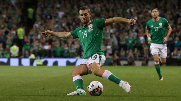 Wes Hoolahan is a key player for the Republic of Ireland
