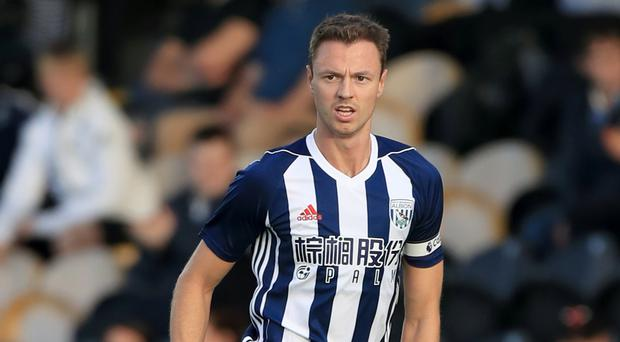 Tony Pulis hopes to secure Jonny Evans' long-term West Brom future
