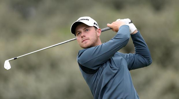 Harry Ellis, pictured, and Alfie Plant suffered at Los Angeles Country Club on Saturday