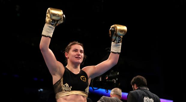 Katie Taylor won gold at the London Olympics five years ago