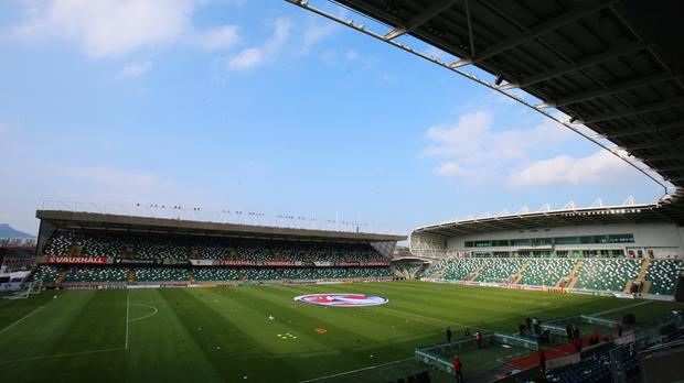 Windsor Park is in the running to stage the 2019 UEFA Super Cup
