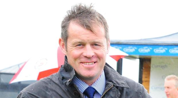 Scotch Beg's trainer Andy Oliver