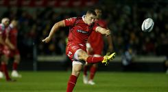 Steven Shingler was on point with the boot