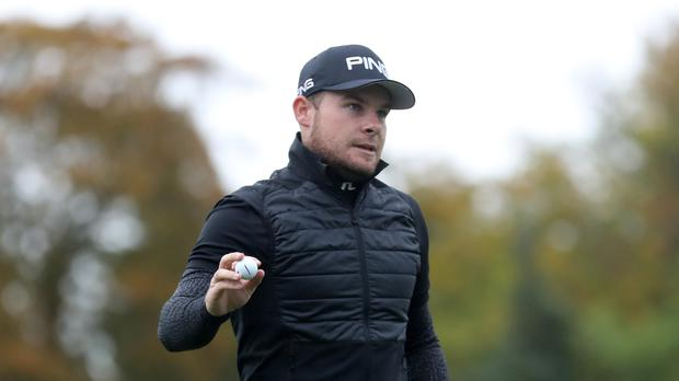England's Tyrrell Hatton set the pace on day two of the British Masters