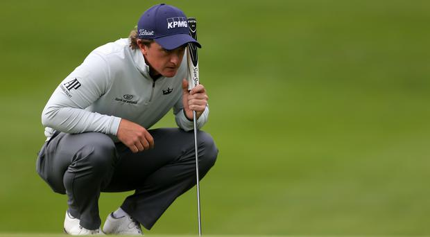 Ireland's Paul Dunne held off Rory McIlroy to win the British Masters at Close House