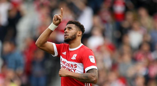 Cyrus Christie dedicates a goal to his late Uncle Errol