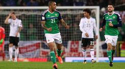 Josh Magennis' late consolation gave Northern Ireland fans something to cheer about