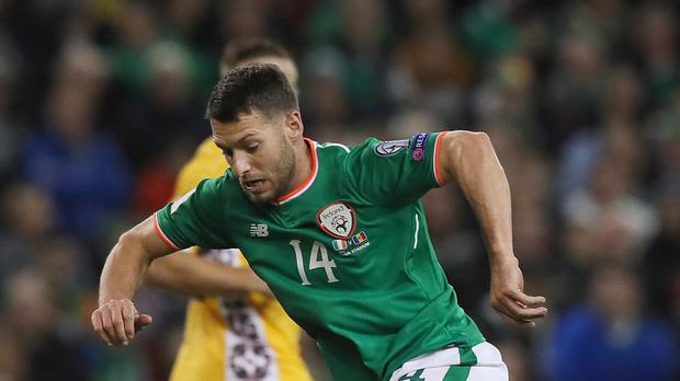 Veteran Wes Hoolahan, pictured, is still the Republic of Ireland's inspiration