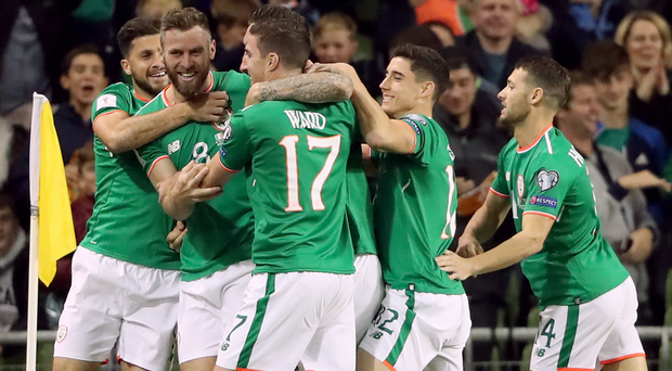 The Republic of Ireland beat Moldova on Friday night. Photo: PA