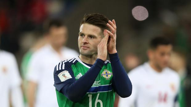 Oliver Norwood is set to win his 50th Northern Ireland cap on Sunday evening